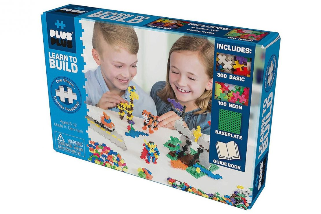 Plus Plus Learn to Build Boxed Set - Basic Colors