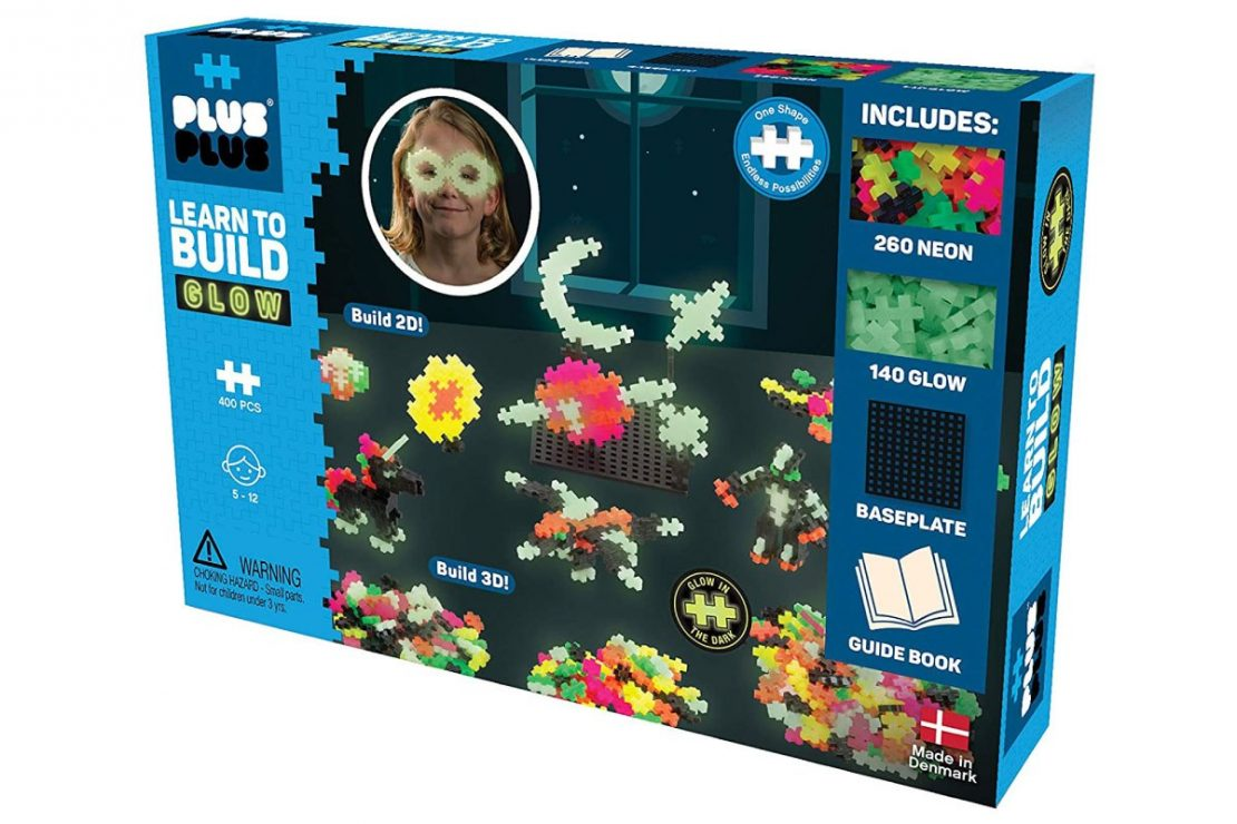 Plus Plus Learn to Build Boxed Set - Glow