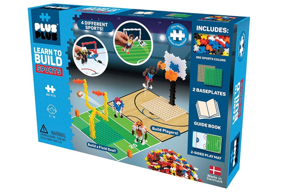 Plus Plus Learn to Build Boxed Set - Sports