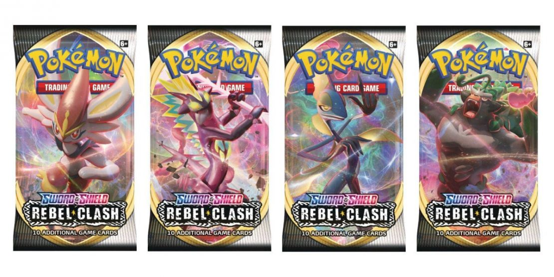 Pokemon tcg ss rc booster packs