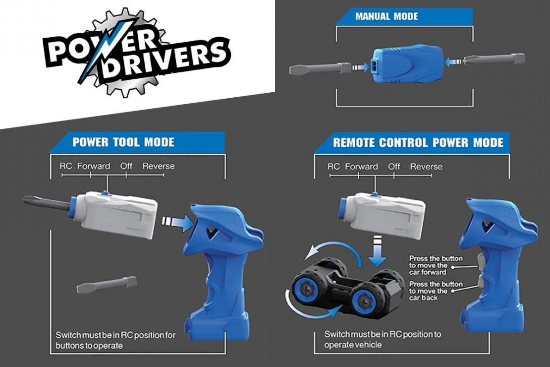 Power Drivers RC Vehicles from Flybar