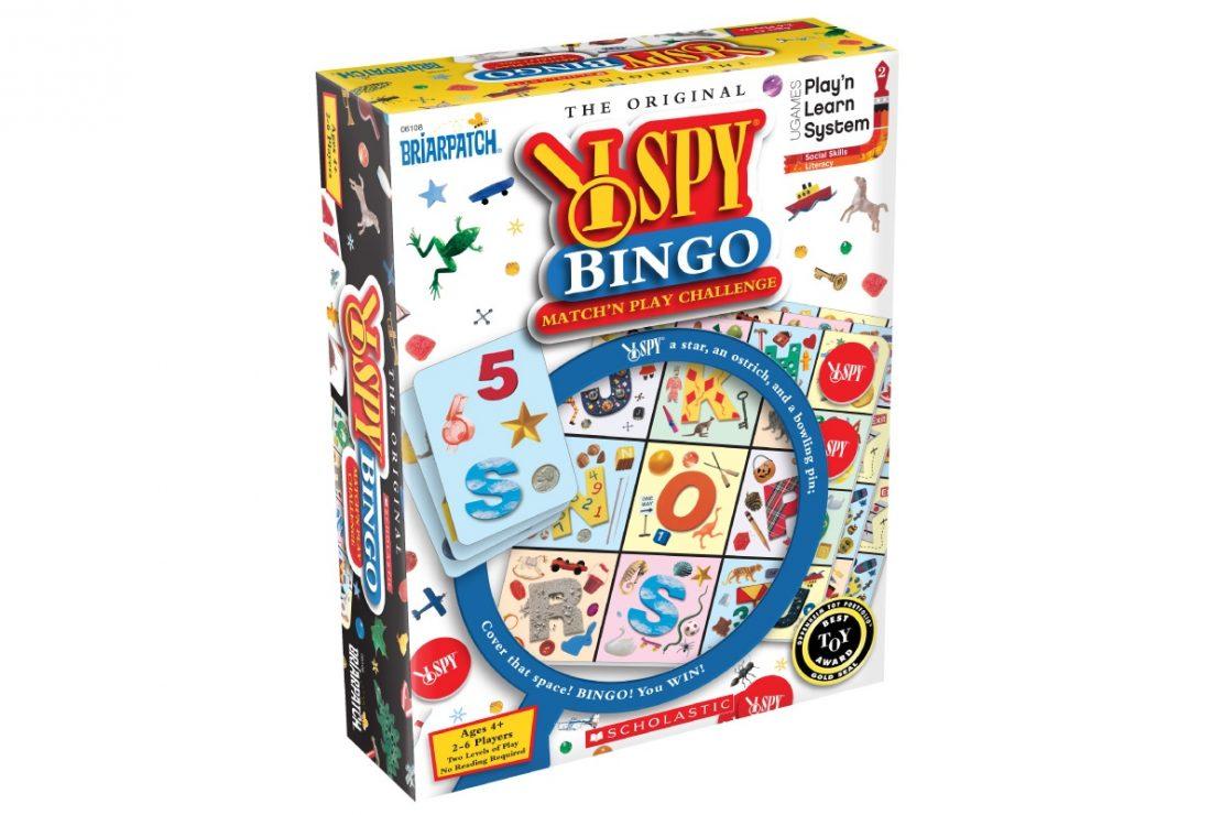 I Spy Bingo from Briarpatch