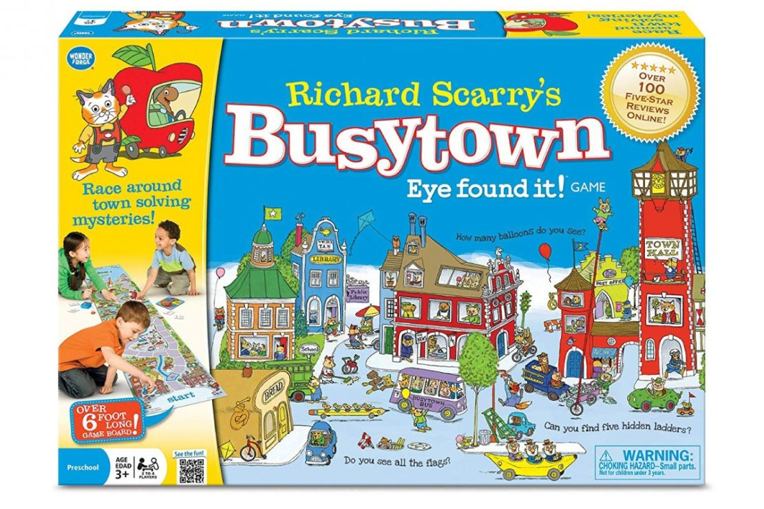 Richard Scarry's Busytown Eye Found It! from Wonderforge