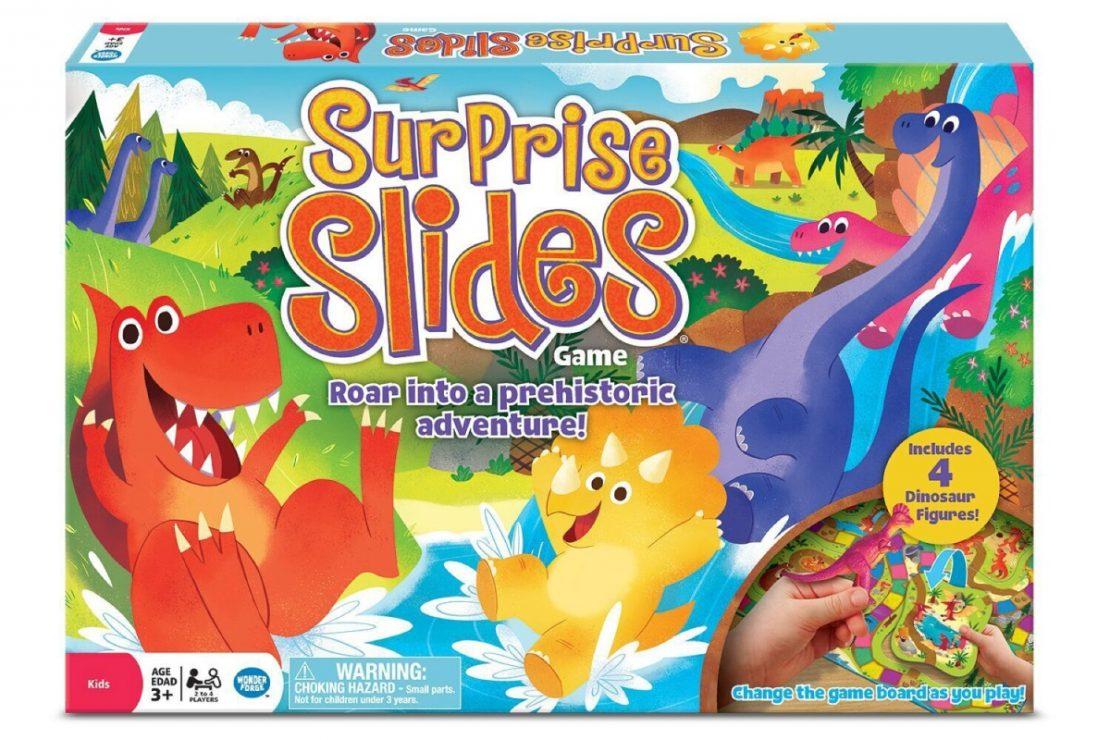 Surprise Slides Dinosaurs from Wonderforge