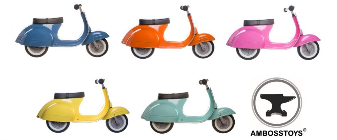 The Colors of the Primo Ride On from Amboss Toys