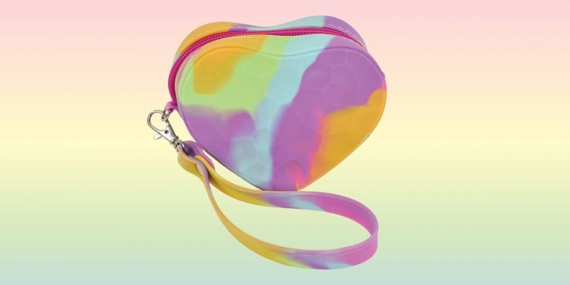 Heart Silicone Coin Purse from iScream