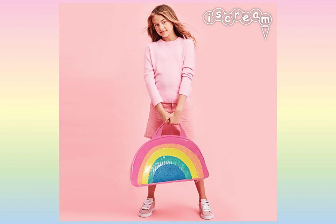 Rainbow Overnight Bag from iScream