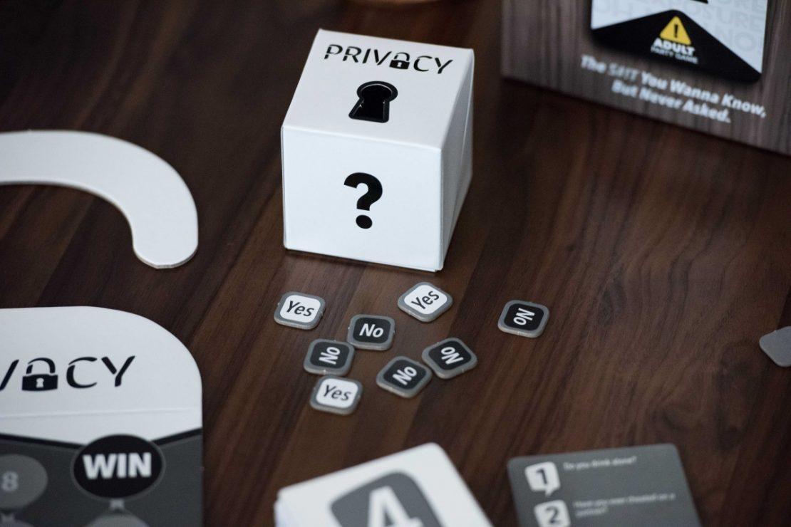 Privacy Game Answer Box
