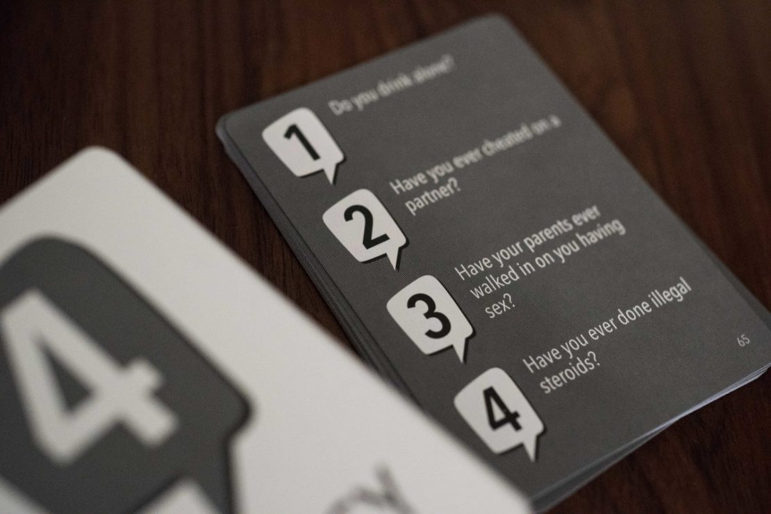 Privacy Game Question Card