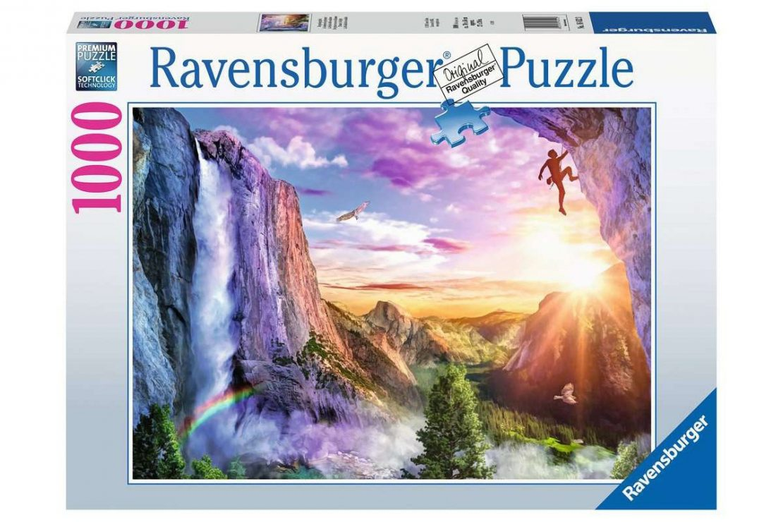 Cliff Climb Ravensburger 1000 Piece Puzzle