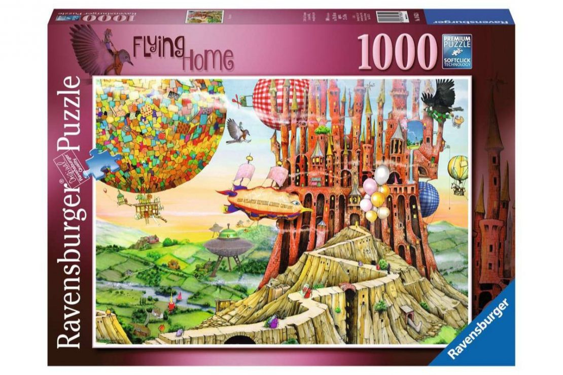 Flying Home Ravensburger 1000 Piece Puzzle