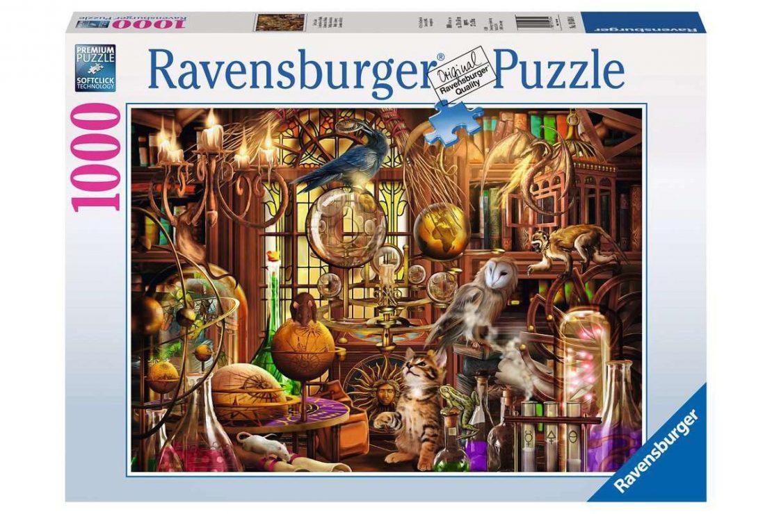 Merlin's Workroom Ravensburger 1000 Piece Puzzle