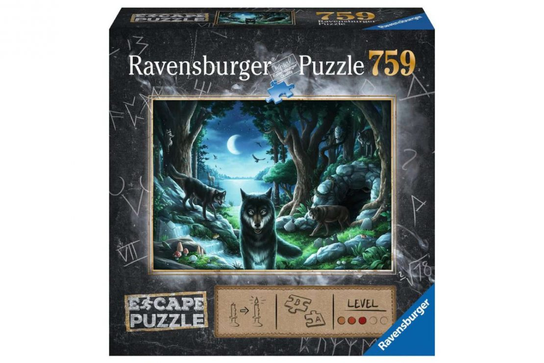 Curse of the Wolves Escape Puzzle from Ravensburger