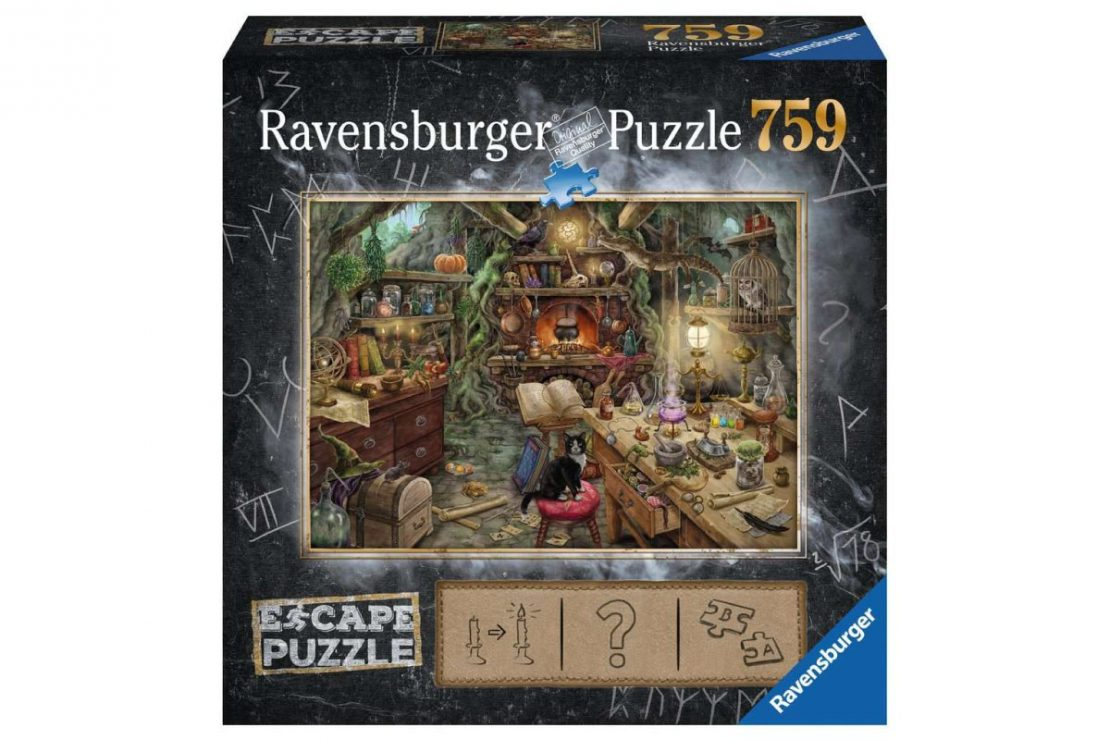 Witch's Kitchen Escape Puzzle from Ravensburger