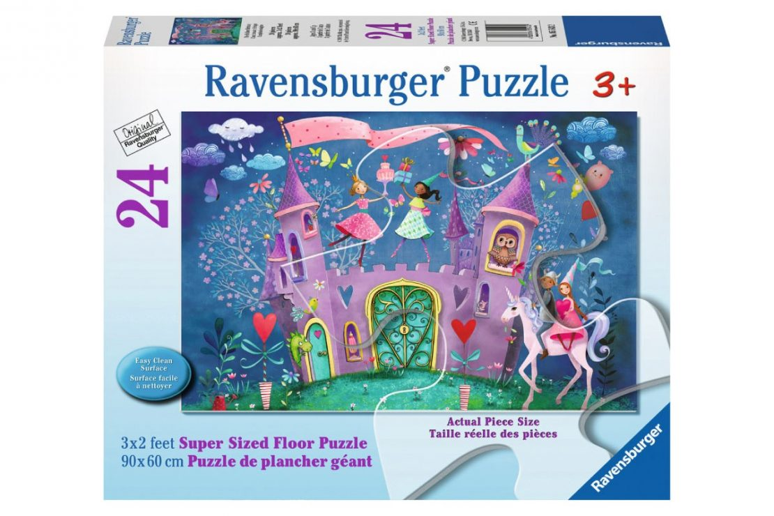 Birthday Castle 24 piece Ravensburger Jigsaw Floor Puzzle