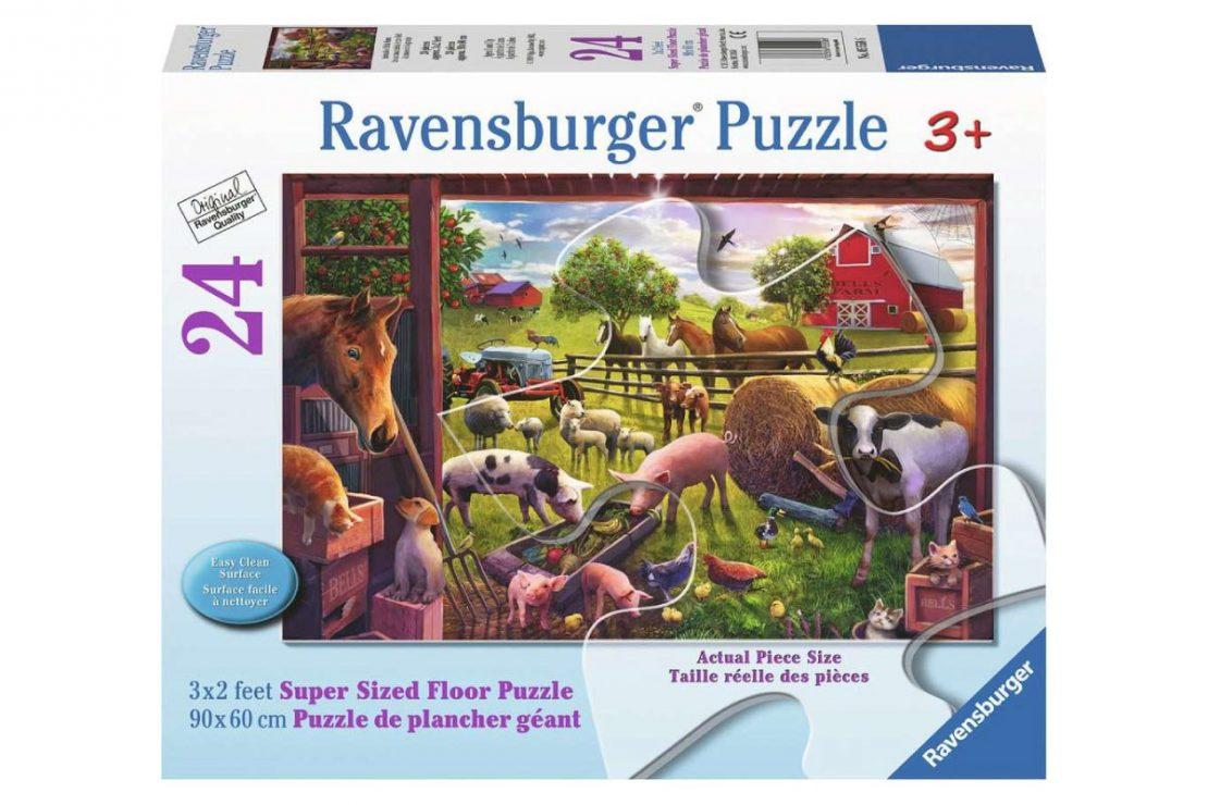 Farm Yard 24 piece Ravensburger Jigsaw Floor Puzzle