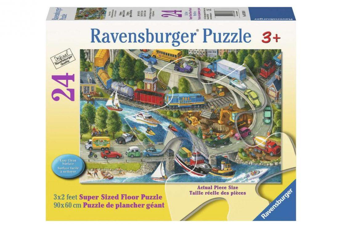 Transportation 24 piece Ravensburger Jigsaw Floor Puzzle
