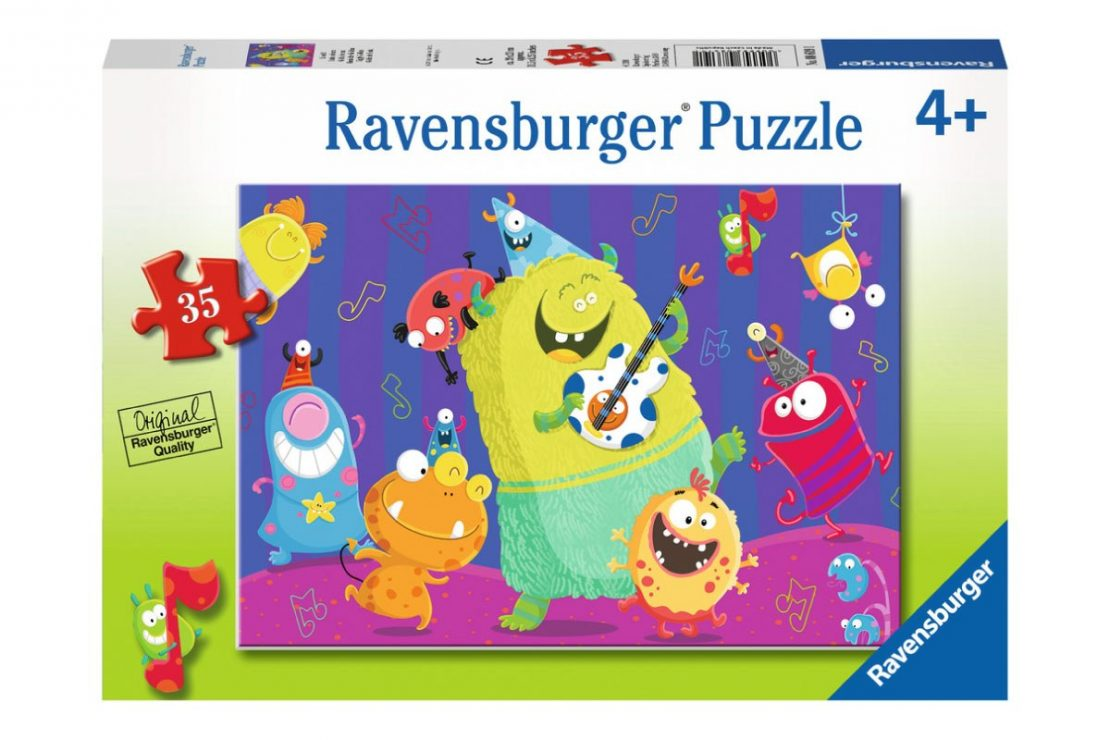 Monsters 35 piece Ravensburger Jigsaw Puzzle