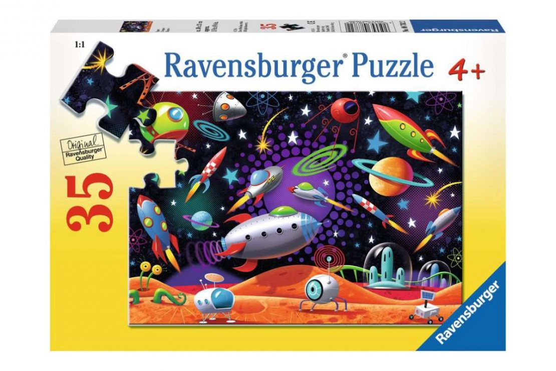 Space 35 piece Ravensburger Jigsaw Puzzle