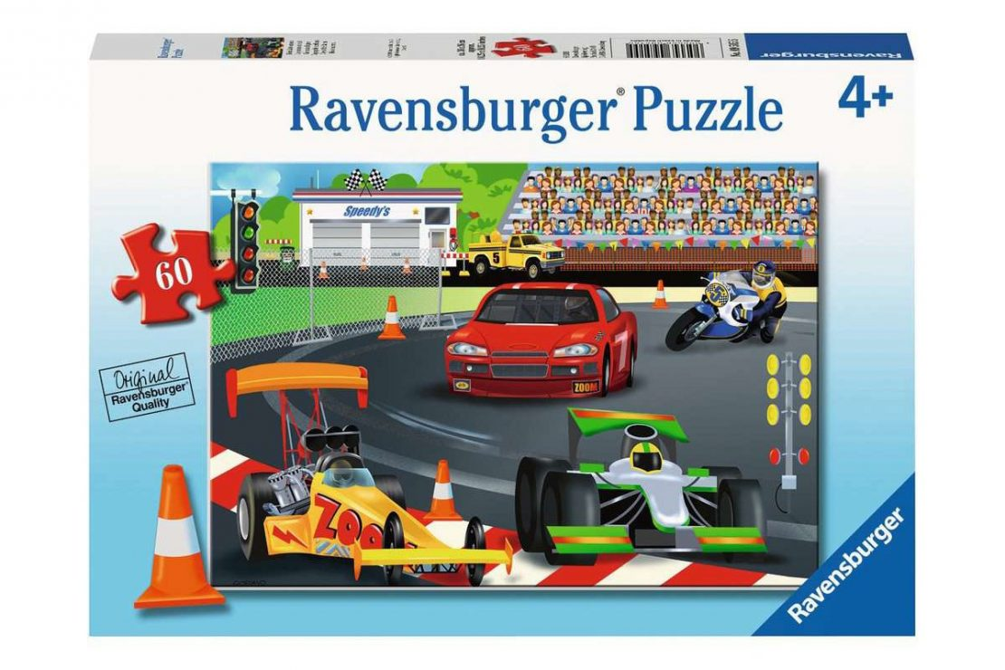 Race Day 60 piece Ravensburger Jigsaw Puzzle