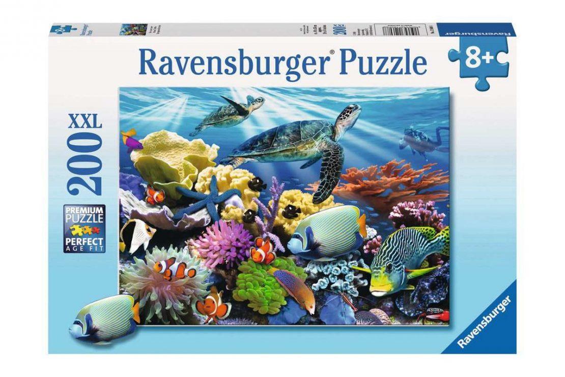 Ocean Reef 200 piece XXL Ravensburger Jigsaw Puzzle