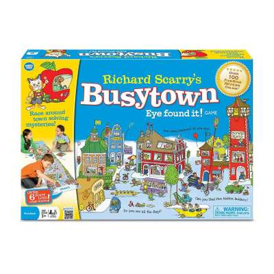 Richard Scarry's Busytown Eye Found It Game from Wonderforge