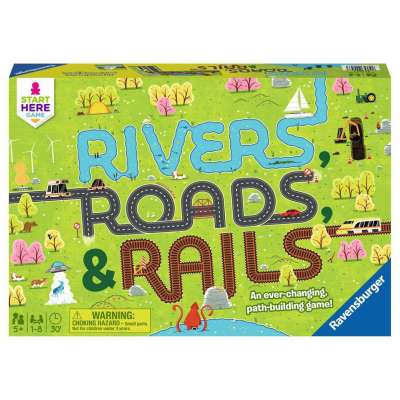 Rivers Roads & Rails game from Ravensburger
