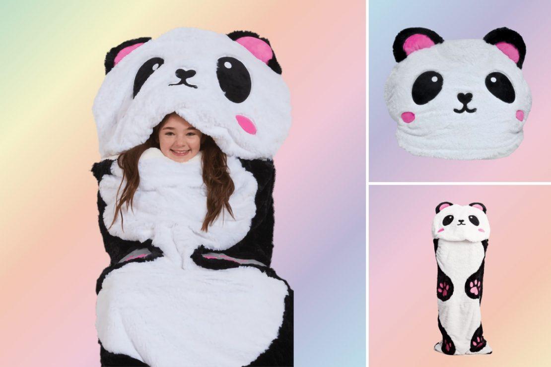 iScream Panda Sherpa Sleeping Bag