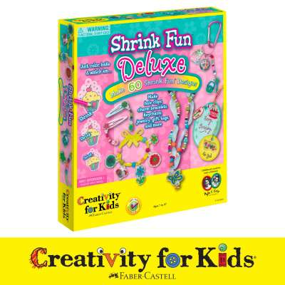 Shrink Fun Kits from Make Your Own Shrink Fun from Creativity for Kids