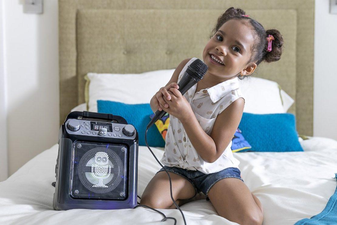 Singing Machine Groove Cube Mini