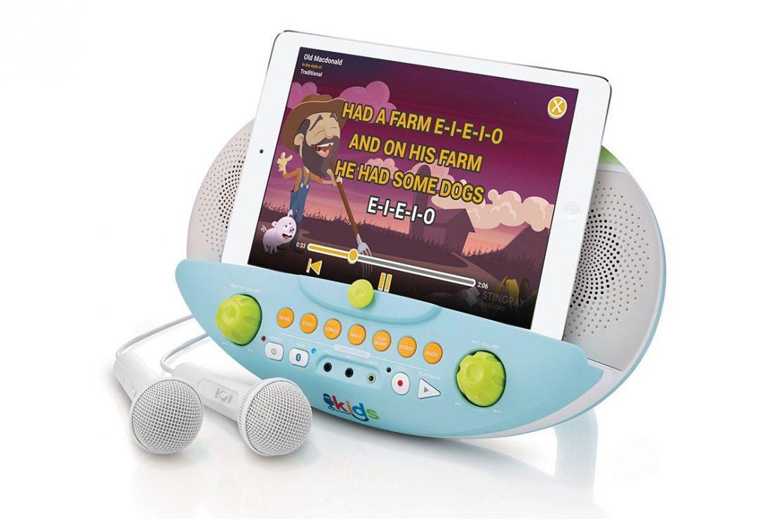 Kids Pedestal Karaoke with Device