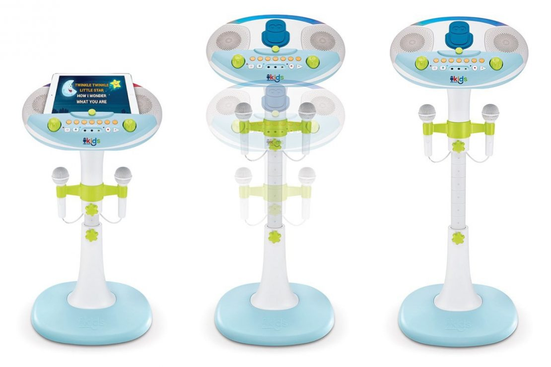 Kids Pedestal Karaoke Adjustable Height