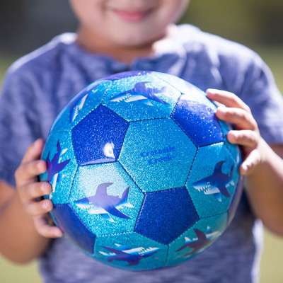 Glitter Soccer Balls from Crocodile Creek