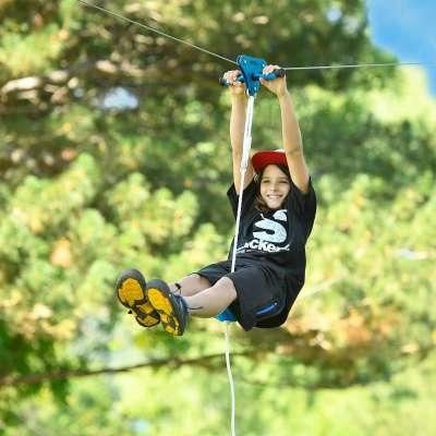 Slackers Ziplines from B4Adventure
