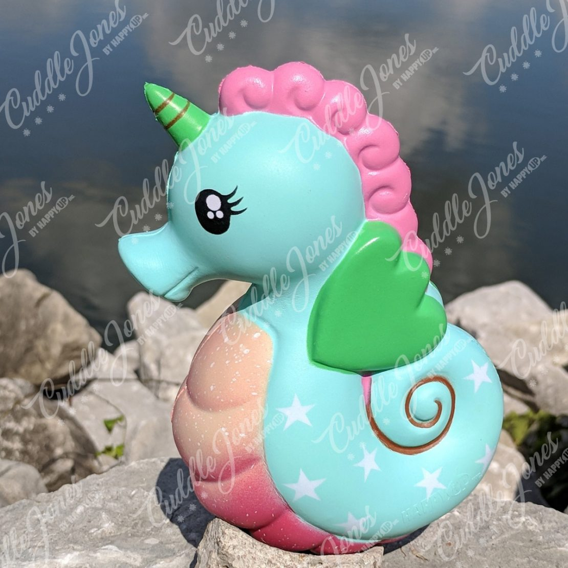 Cuddle Jones Minty Seahorsicorn