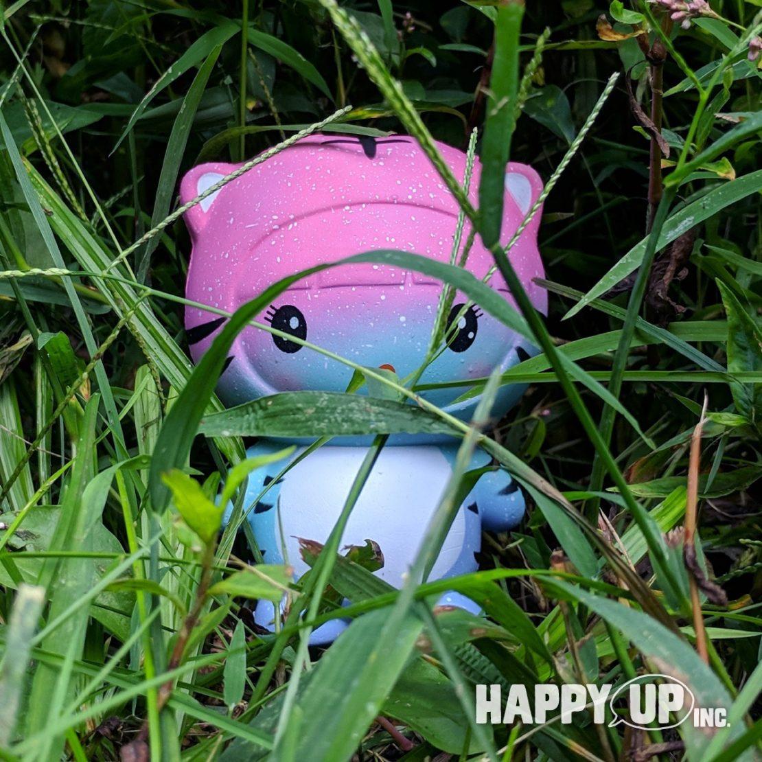 Tiger Girl Stalks the Long Grasses