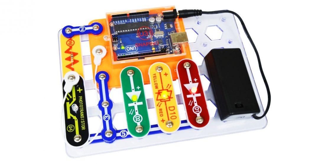 Elenco Snap Circuits Snapino Board