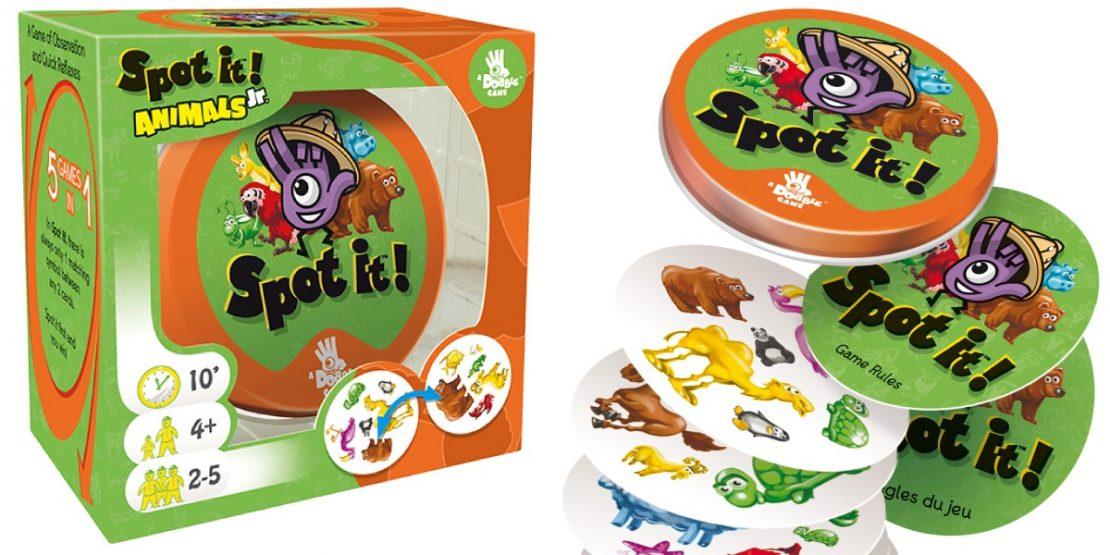 Spot It Jr Animals from Dobble/Zygomatic