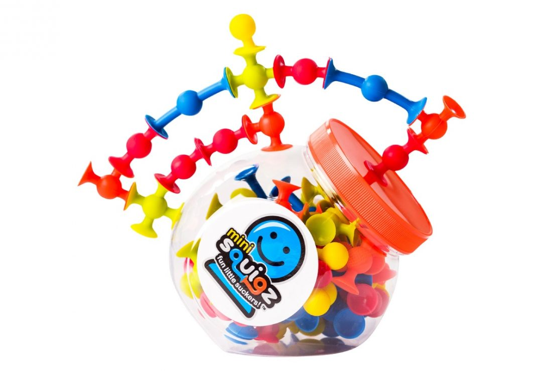 Mini Squigz from Fat Brain Toy Co