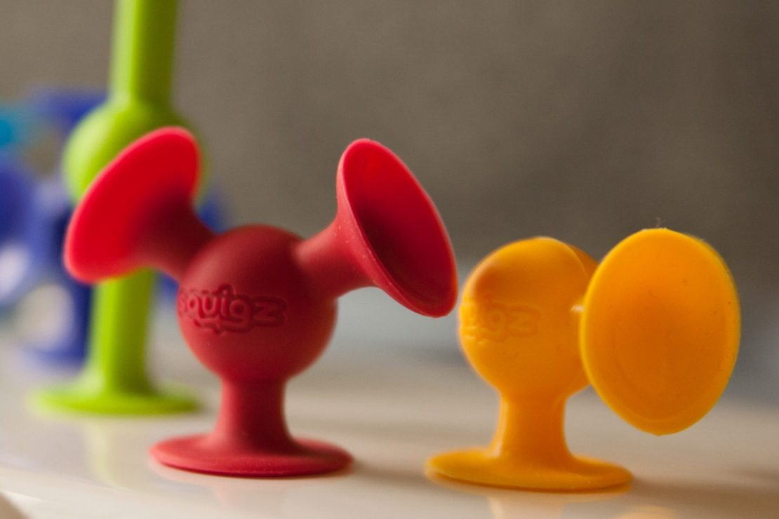 Squigz from Fat Brain Toy Co