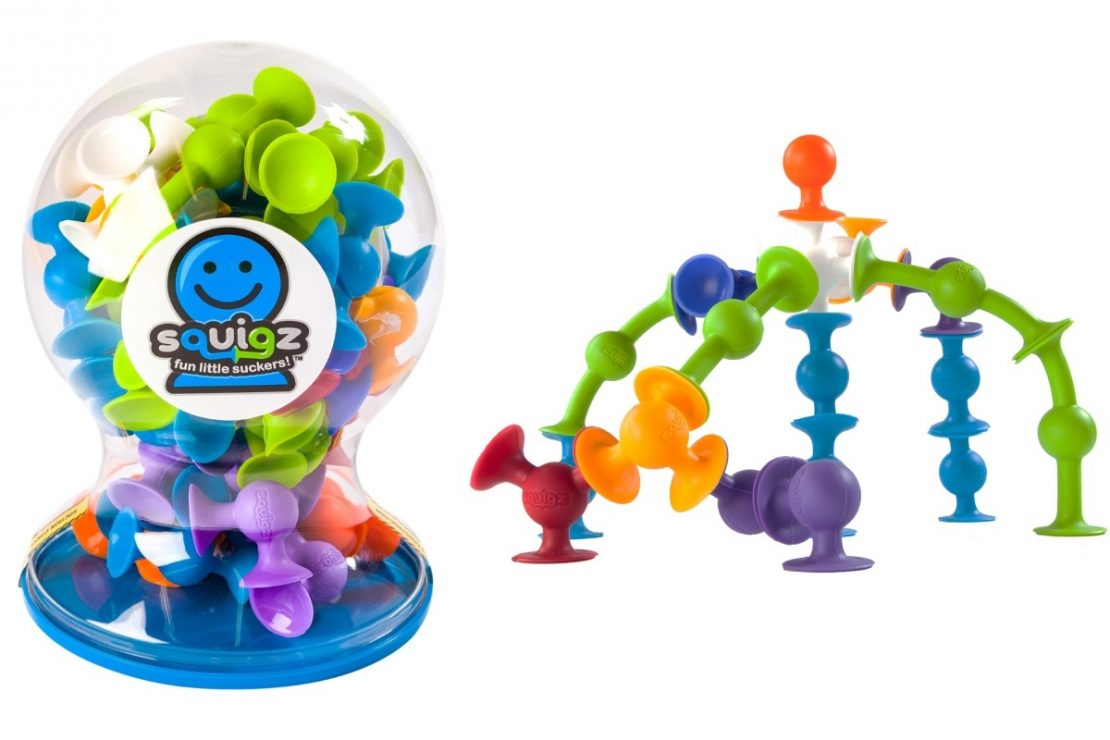 Squigz Deluxe Set from Fat Brain Toy Co