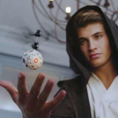 Wow! Stuff Star Wars Jedi Training Remote Control Heliball