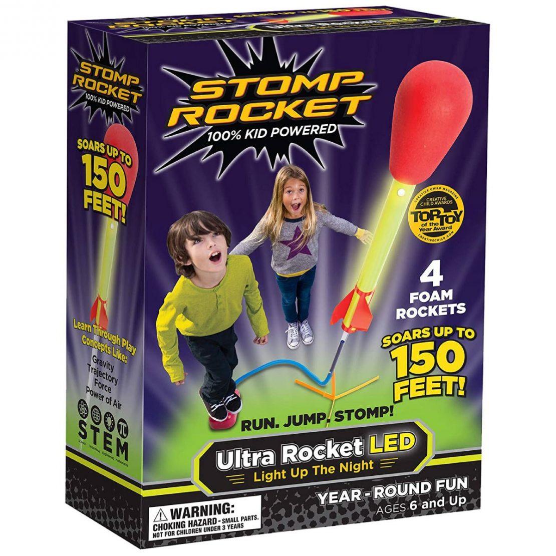 Ultra Stomp Rockets LEDs
