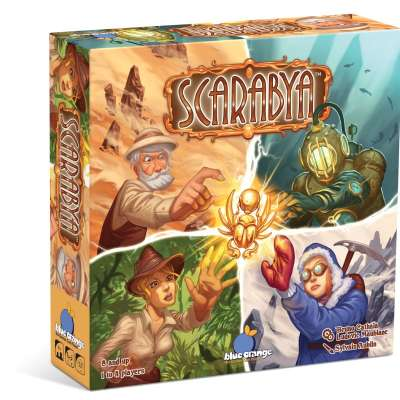 Scarabya from Blue Orange Games