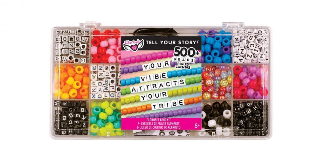 Tell Your Story 500 Bead Alphabet Set from Fashion Angels