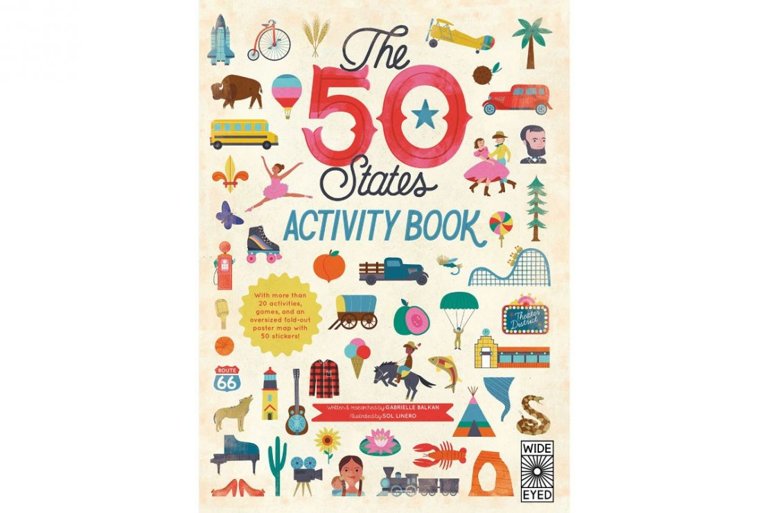 The 50 States Activity Book by Gabrielle Balkan