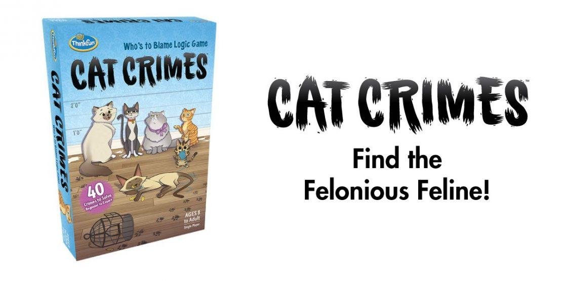 Cat Crimes from ThinkFun