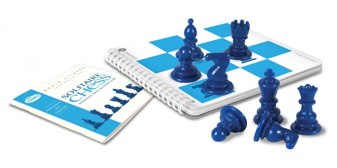 Solitaire Chess Brain Fitness from ThinkFun