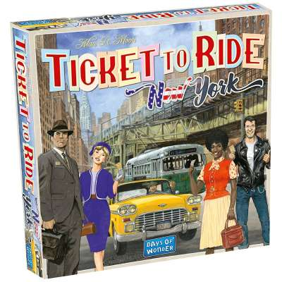 Ticket to Ride NYC from Days of Wonder