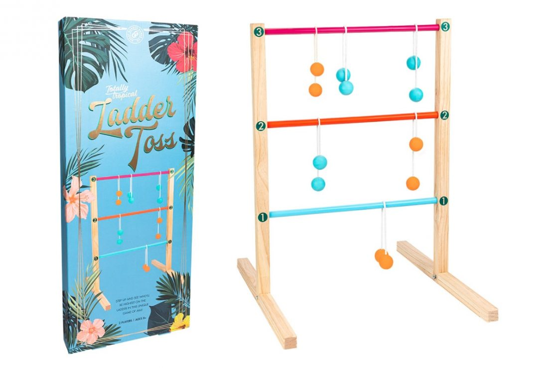 Totally Tropical Ladder Toss from Professor Puzzle